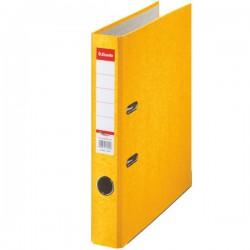 Pořadač Esselte Rainbow A4 50mm 17923 prešpán žlutý