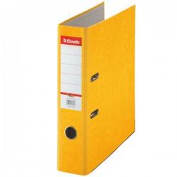 Pořadač Esselte Rainbow A4 75mm 17928 prešpán žlutý