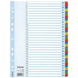 Rozřaďovač A4 1-31 papír. Esselte 100164