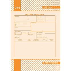 Tiskopis Faktura A5 NCR  OPTč.1072