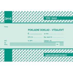 Tiskopis PDV A6 OPT NCR nečísl.  OPTč.1069