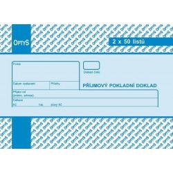 Tiskopis PPD A6 OPT 2x50 čís.obyč  OPTč.1039