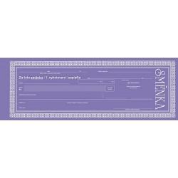 Tiskopis Směnka cizí (zaplaťte)  OPTč.1113