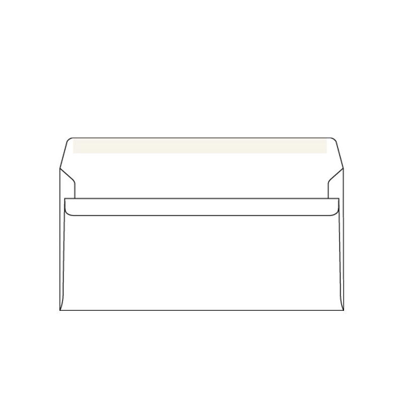 Obálka DL - 50 ks samolepicí bez okénka