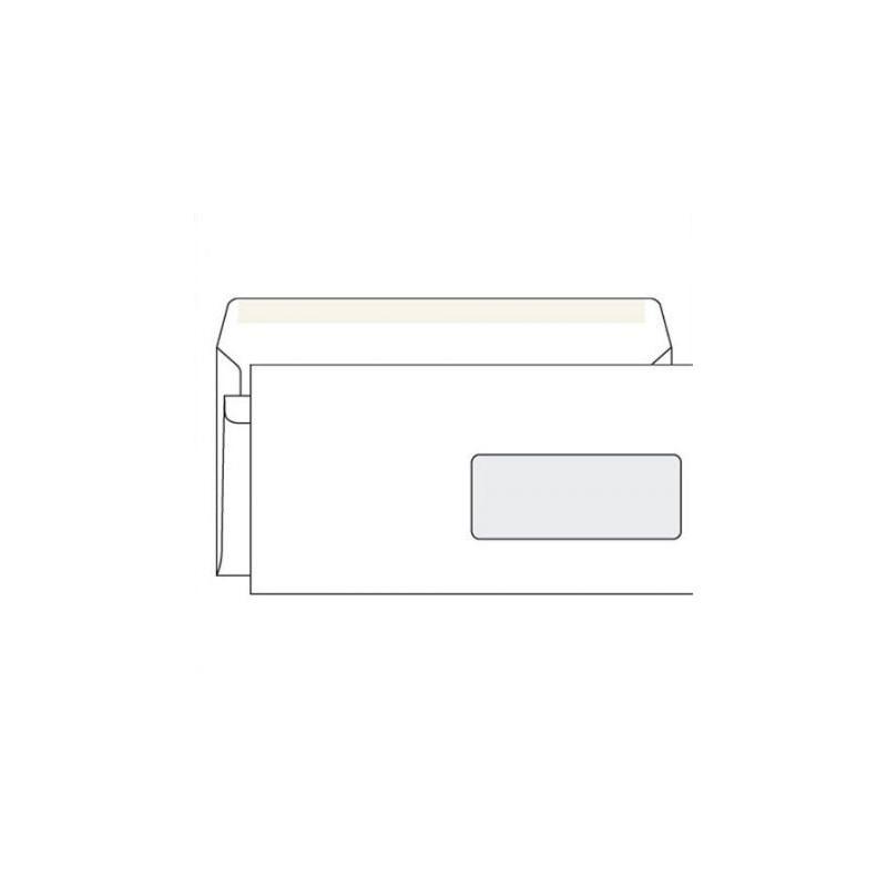 Obálka DL/1000 okno samolepicí Krpa