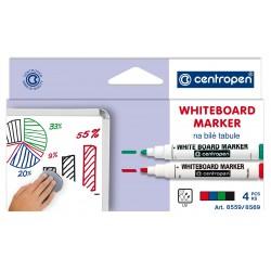 Popisovač  bílá tab. WBM 8869/8569/4 1-4,5 sada