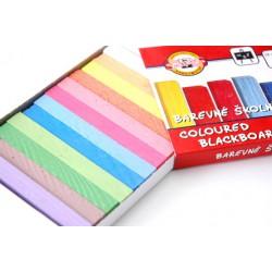 KOH-I-NOOR barevná křída školní 112506, 12ks v krabičce