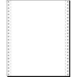 """Tabelační papír 24 x 12"""" (1+0) 2000 listů, boční perforace TP"""