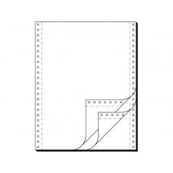 """Tabelační papír 24 x 12"""" (1+2) 750 listů, boční perforace NCR"""