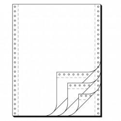 """Tabelační papír 24 x 12"""" (1+3) 750 listů, boční perforace NCR"""