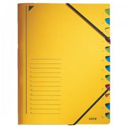 Leitz třídicí desky s gumičkou A4, 12 listá