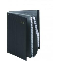 Podpisová kniha Pultordner 1-31 černá