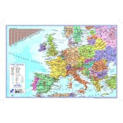 Podložka na stůl mapa Evropa