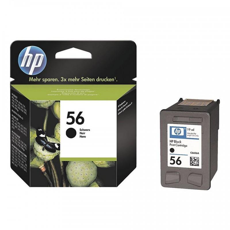Kazeta HP C6656A black No.56