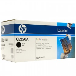 HP Cartridge CE250A black CLJ CP3525