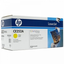 HP Cartridge CE252A yellow CLJ CP3525