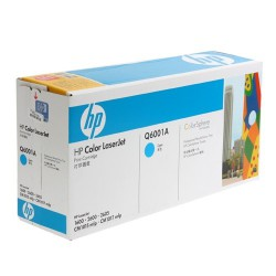 HP Cartridge Q6001A cyan CLJ2600