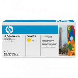 HP Cartridge Q6002A yellow CLJ2600