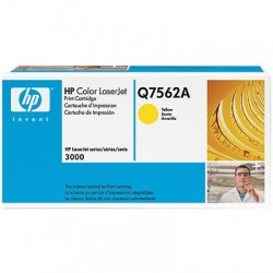 HP Cartridge Q7562A yellow CLJ3000
