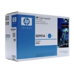 HP Cartridge Q5951A cyan CLJ 4700