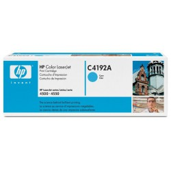HP Cartridge C4192A LJet 4500 CYAN