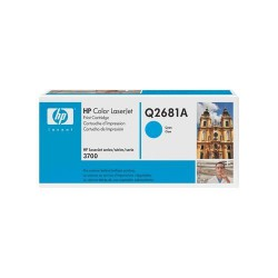 HP Cartridge Q2681A CLJ 3700 cyan