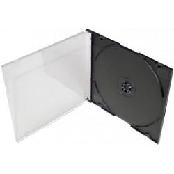 Box na CD/1ks slim-tenký černý