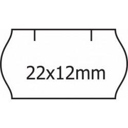 Cenové samolepící etikety na kotoučku 22x12mm Contact, 1500 etiket