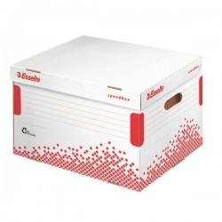 Rychle-složitelná archivační krabice Esselte Speedbox 80 mm, bílá