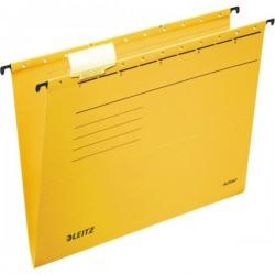 """Závěsné desky Leitz ALPHA® typu """"V"""", žlutá"""