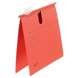 Závěsné desky Leitz ALPHA® s rychlovazačem, žlutá