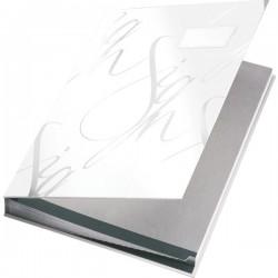 Designová podpisová kniha Leitz červená, 18 třídících listů