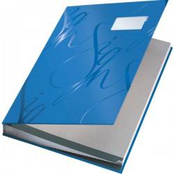 Designová podpisová kniha Leitz bílá, 18 třídících listů