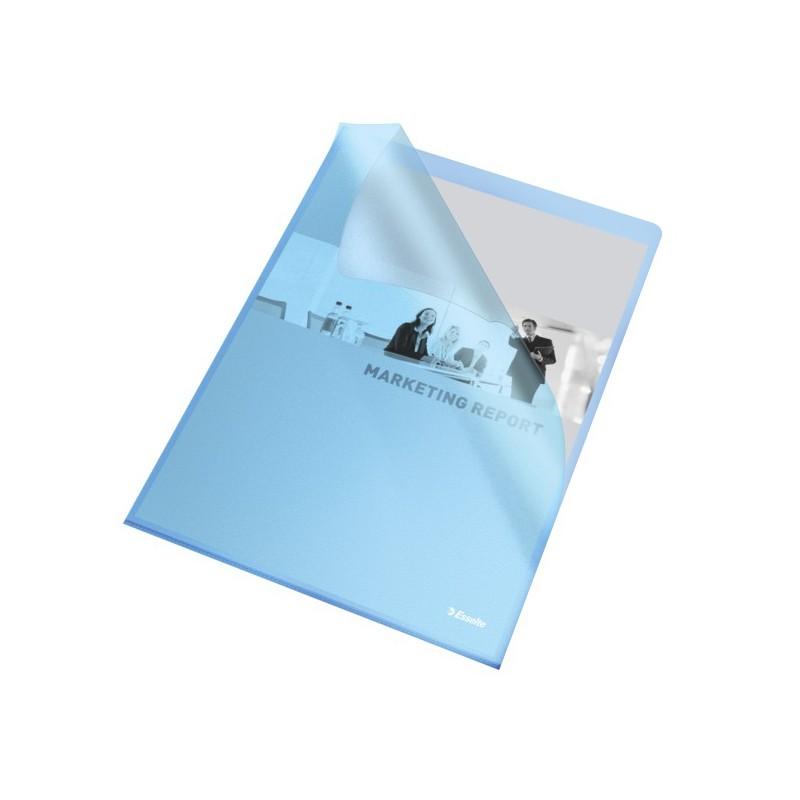 Esselte Obal A4 L zakládací 115mi PP 60834 modrý 25ks embosovaný