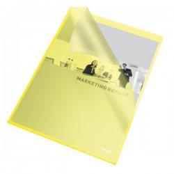 Esselte Obal A4 L zakládací 115mi PP 60833 žlutý 25ks embosovaný