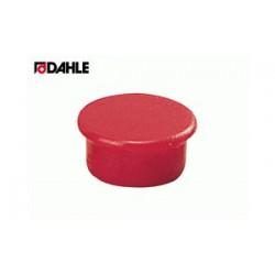 Magnet 13mm červený Dahle 95513 v balení  10 kusů