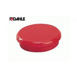 Magnet 24mm červený Dahle 95524 v balení  10 kusů