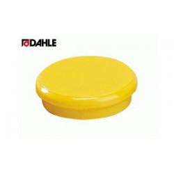 Magnet 24mm žlutý Dahle 95524 v balení  10 kusů