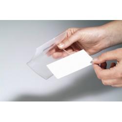 Durable jmenovka Click Fold s magnetem 54 x 90 mm  transparentní 8215