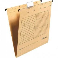 Herlitz Easy Orga závěsné desky s bočnicemi A4, přírodní hnědá