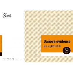 OPTYS DAŇOVÁ EVIDENCE PRO NEPLÁTCE DPH A4 - 1022