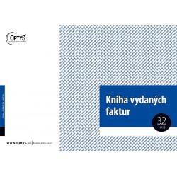OPTYS KNIHA VYDANÝCH FAKTUR A4 - 1010