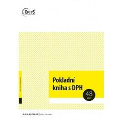 OPTYS POKLADNÍ KNIHA A4 - 1011