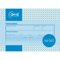 OPTYS DOVOLENKA A6 100L 1146