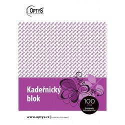 OPTYS KADEŘNICKÝ BLOK KARBON A5 - 1271