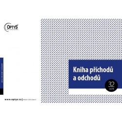 OPTYS KNIHA PŘÍCHODŮ A ODCHODŮ A4 32 LISTŮ 1269