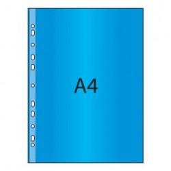 Obal A4 U s eurozávěsem barevný PP 60mic lesklý, 25ks