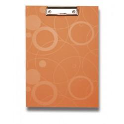 Psací podložka A4 s klipem NEO COLORI oranžová