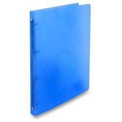 Pořadač A4 PP 4 kroužkový modrý, kolekce NEO COLORI