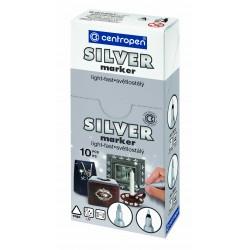 Centropen univerzální popisovač 2690 B GOLD & SILVER, stopa 1,5-3 mm
